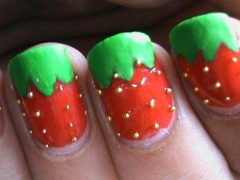 Glossy matt strawberry nail art designs easy youtube do it glossy matt strawberry nail art designs easy youtube do it yourself nails step by step solutioingenieria Choice Image