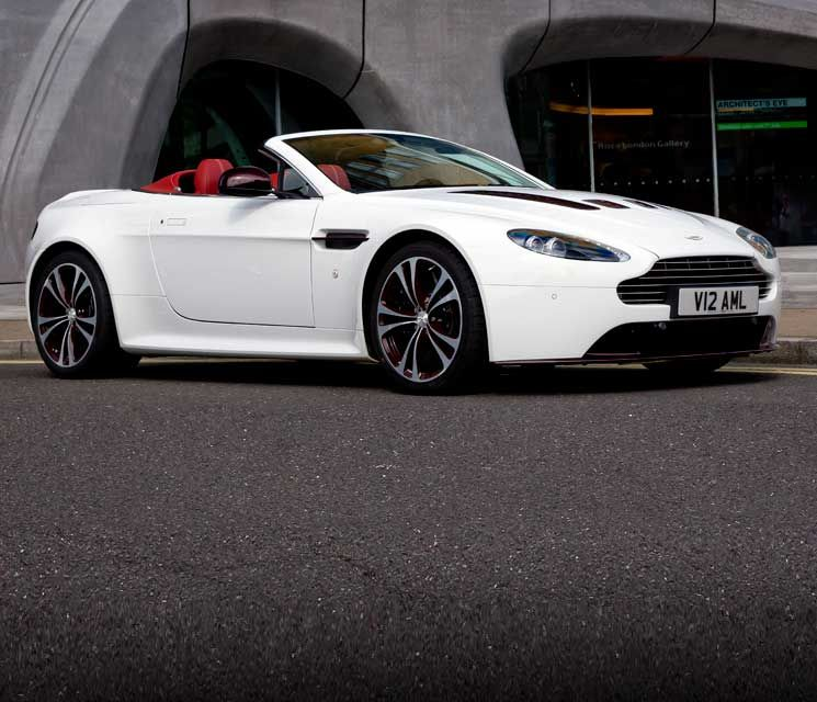 The Aston Martin Vantage Range