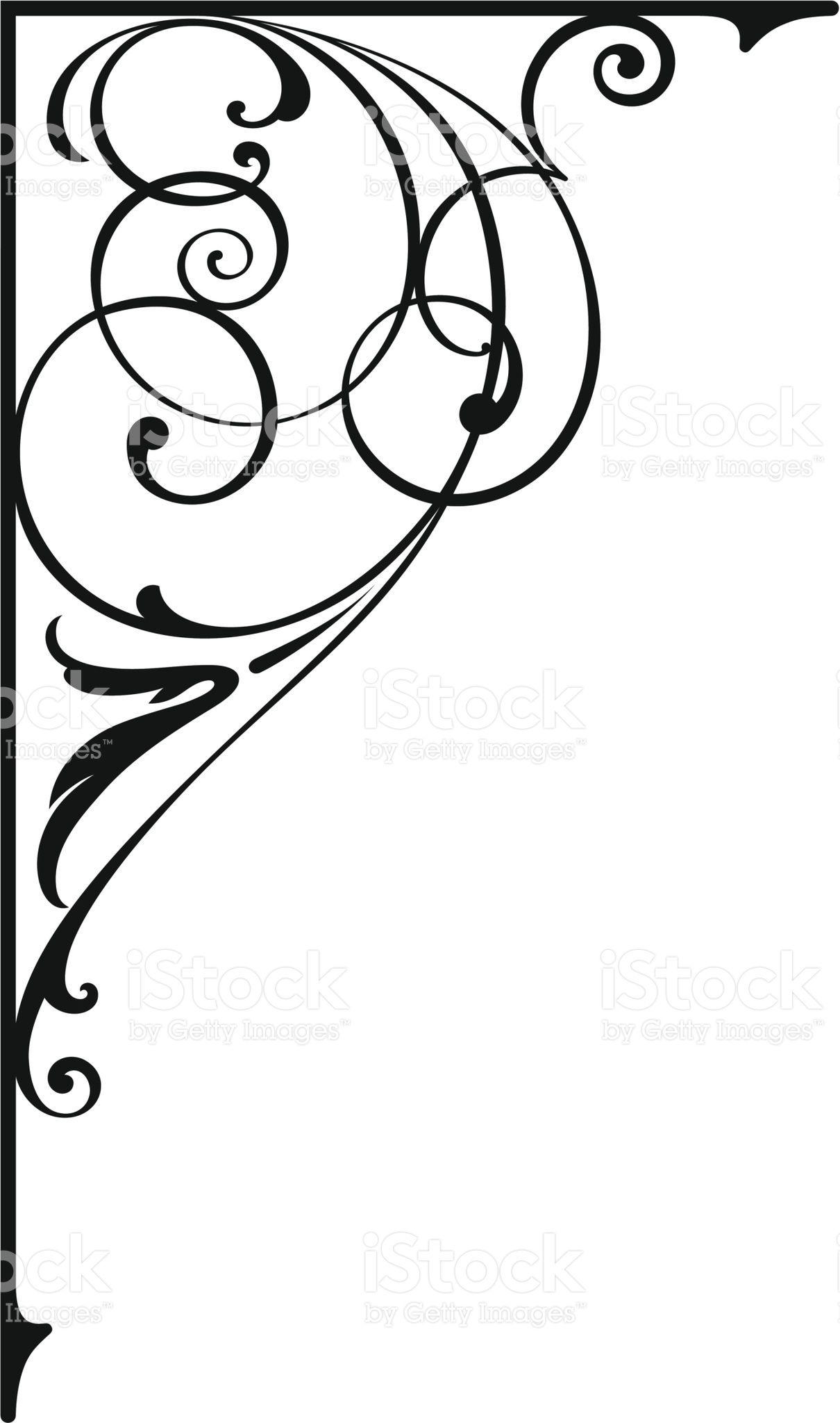 Design de Canto download vetor e ilustração royalty-free