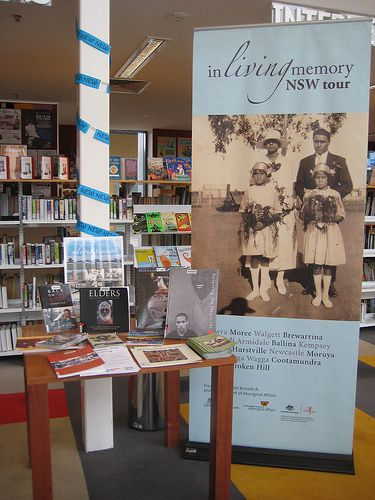 In Living Memory Display - Civic Public Library - http://q.gs/7oU8C