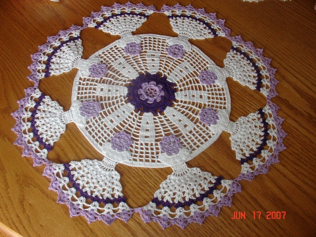 Dancing Lady Doily
