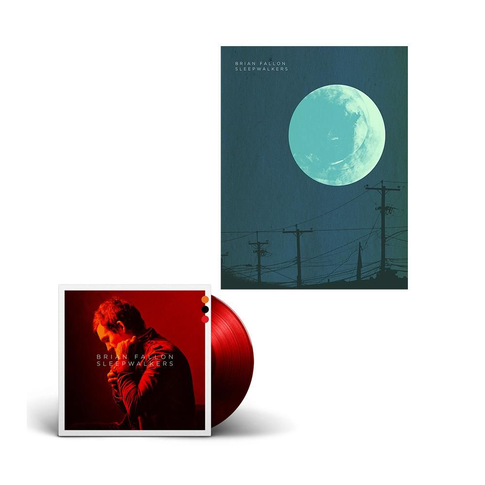 Deluxe Colored Vinyl Signed Poster Brian Fallon Official Store Sign Poster Poster Vinyl Signs