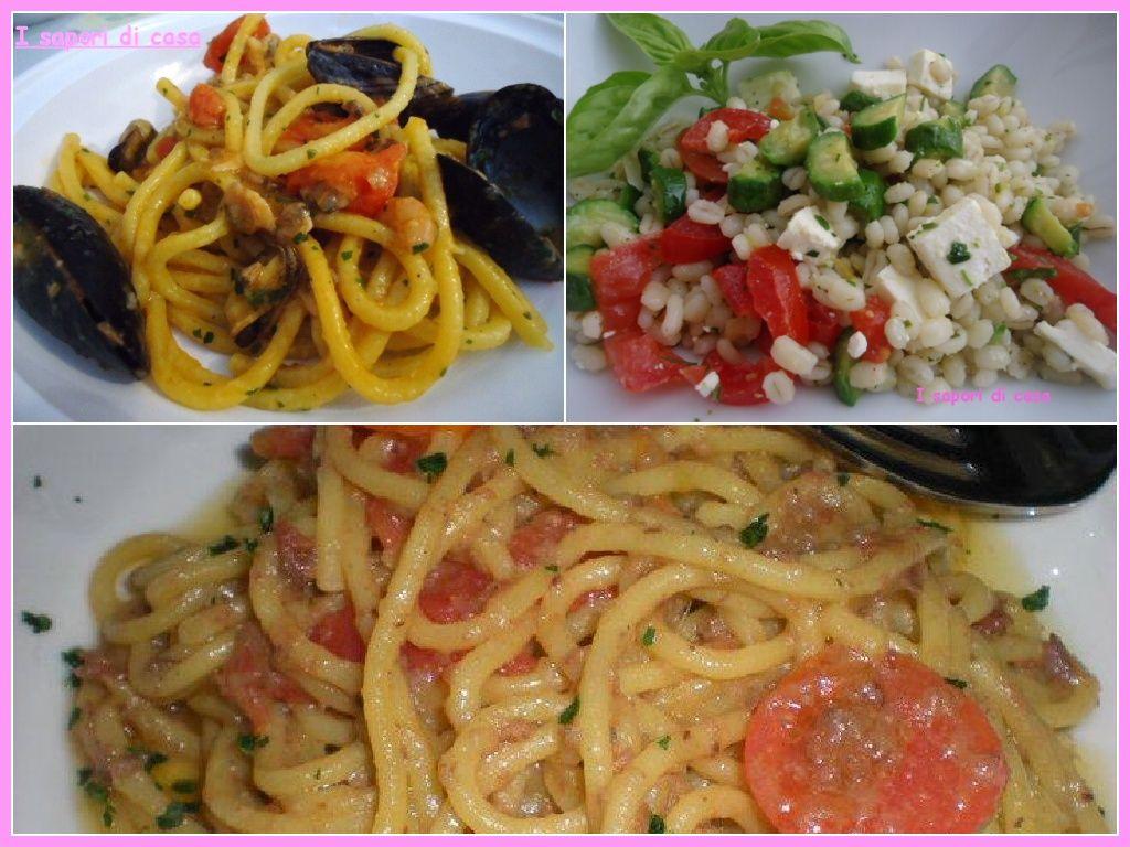 Raccolta primi piatti estivi facili e gustosi pasta for Ricette veloci primi piatti