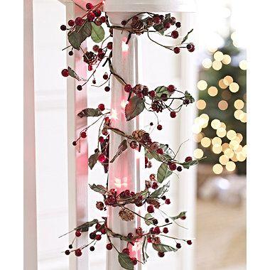 Winter Berry LED Garland - from Lakeland Amanda\u0027s Christmas Board