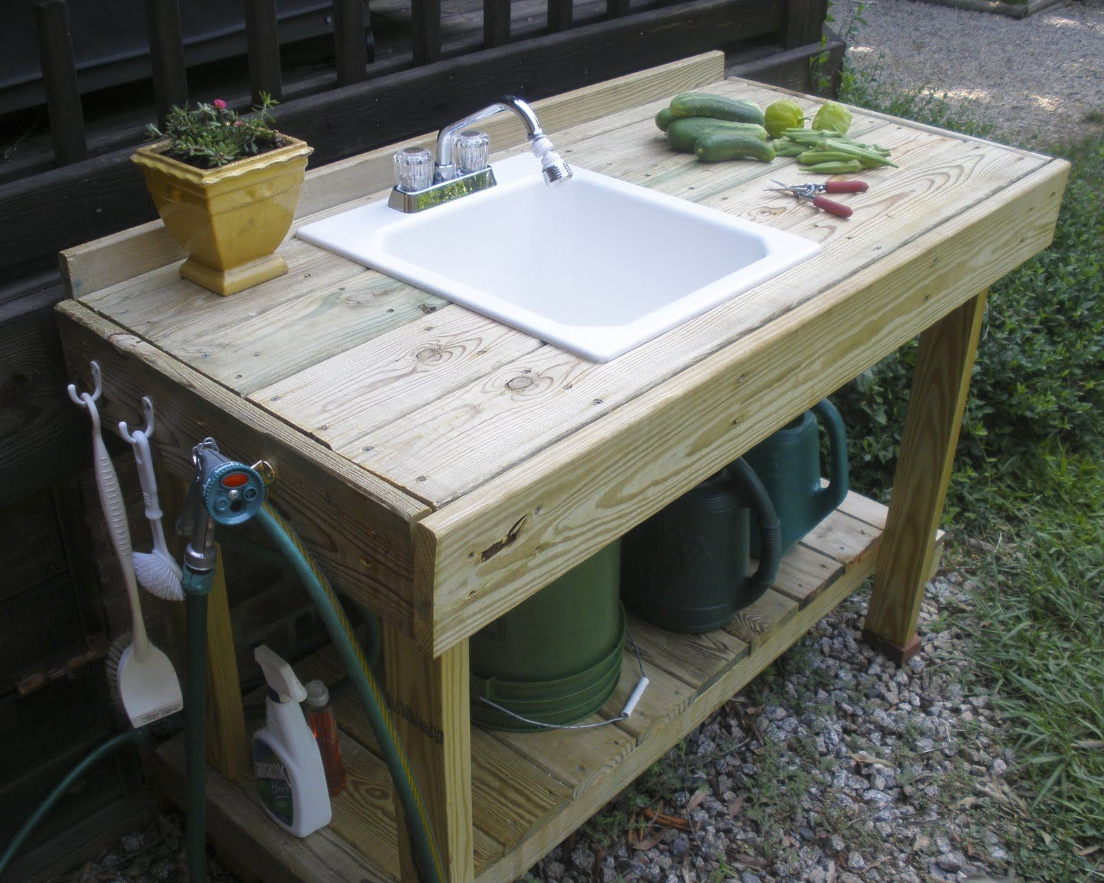 Garden Potting Bench The Gardening Gallimaufry New