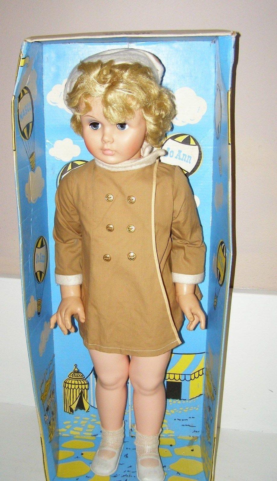 Vintage 36 Patty Playpal Like Walking Doll Joann 1968 Nasco W Box Ebay Dolls Old Dolls Baby Dolls