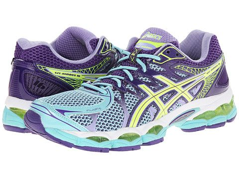 asics purple shoes