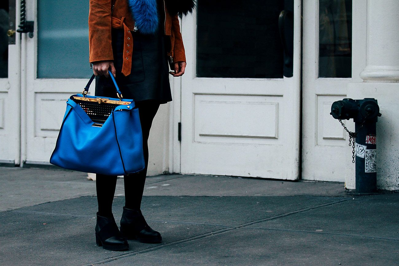 Street Style New York Fashion Week oto�o invierno 2016