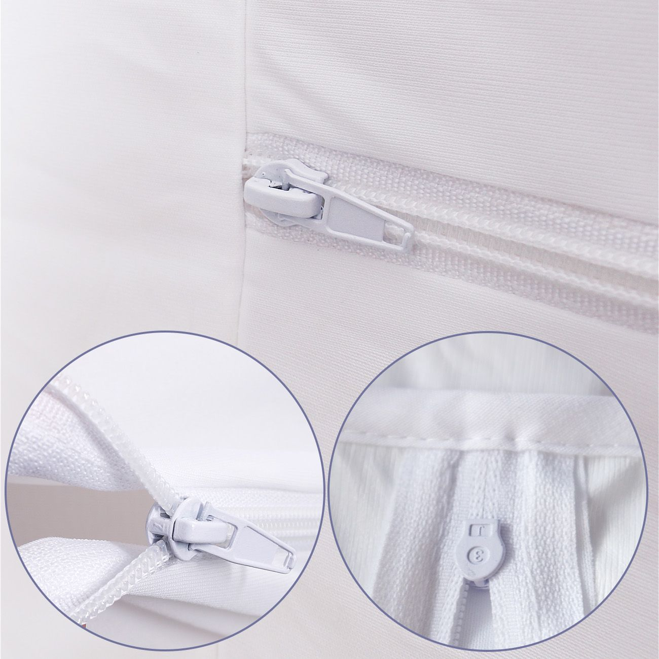 Bed Bug Proof Cover Mite Free Premium Waterproof Zippered Mattress Encasement Cover