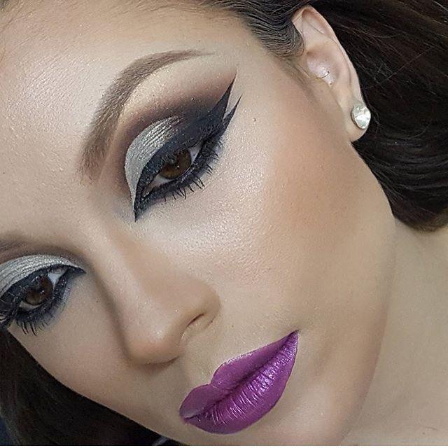 How pretty!  @sylviatambeiromakeup | #makeup