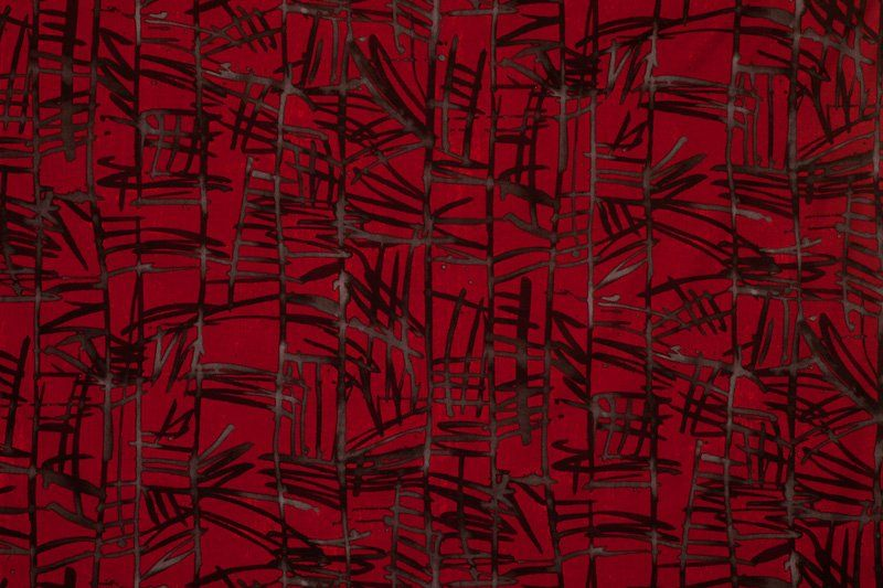 """Marcia Derse """"Red Bamboo"""""""