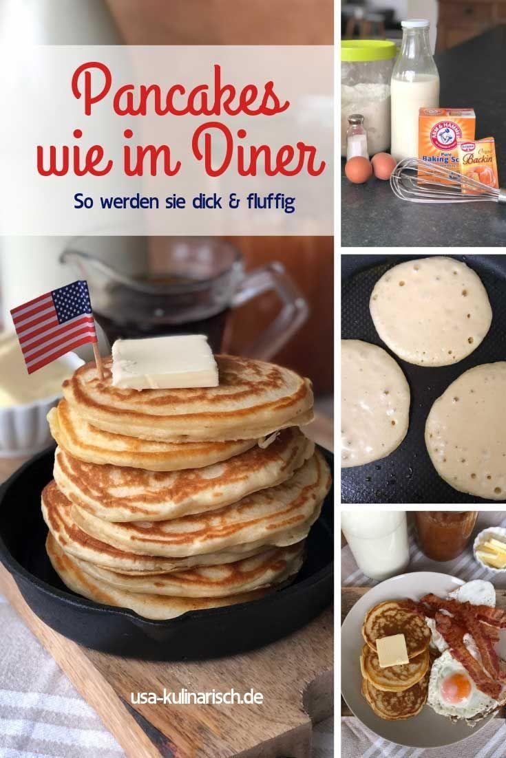 So macht man original amerikanische Pancakes