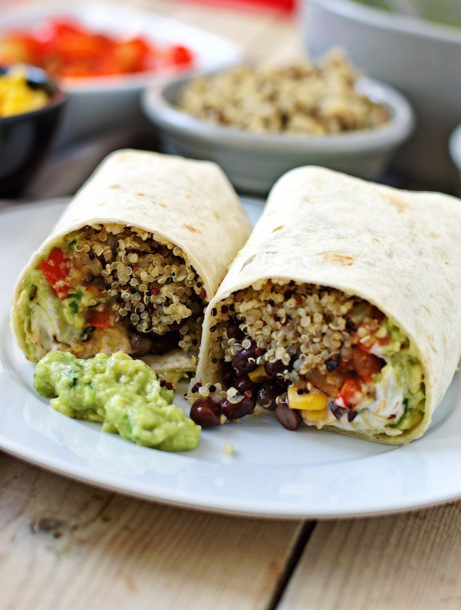 Mexican Quinoa Wraps