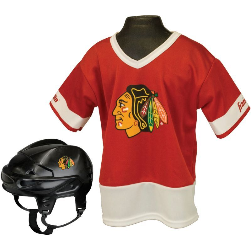 Franklin chicago blackhawks kids uniform set kids unisex