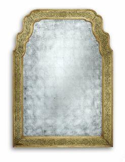 Jonathan Charles Buckingham Gold  Mirror