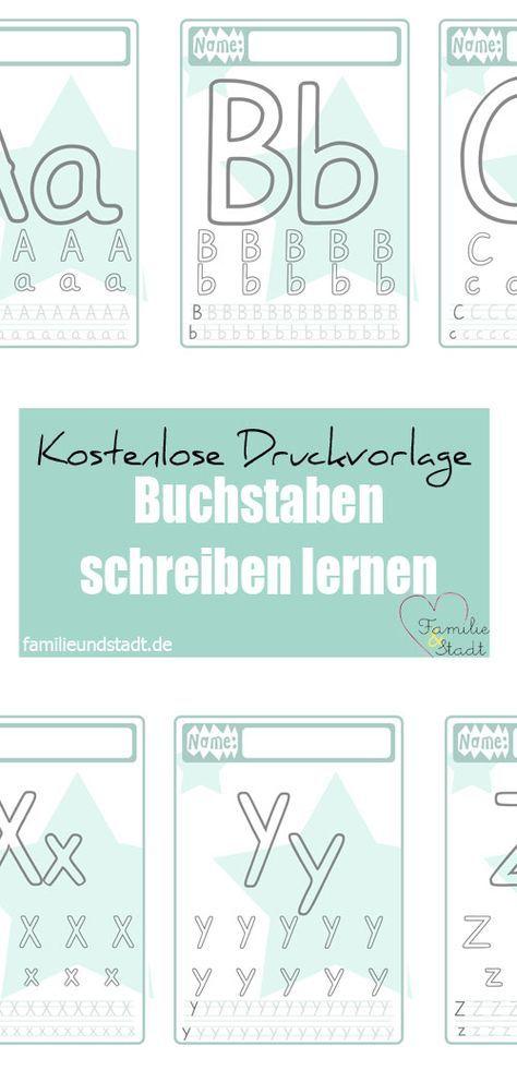 Buchstaben Druckvorlage für Kinder in 2018 | Kinder | Pinterest ...