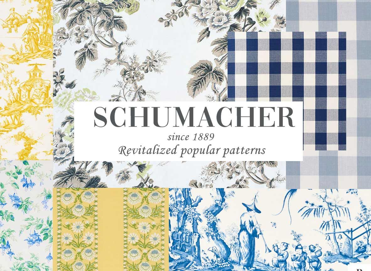 Revisit Of Popular Patterns Schumacher Fabric In 2020 With