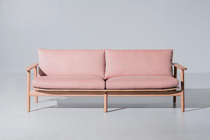 Les plus beaux canapes vus au Salon de Milan 2016 : Canapé Riva, Jasper Morisson (Kettal)