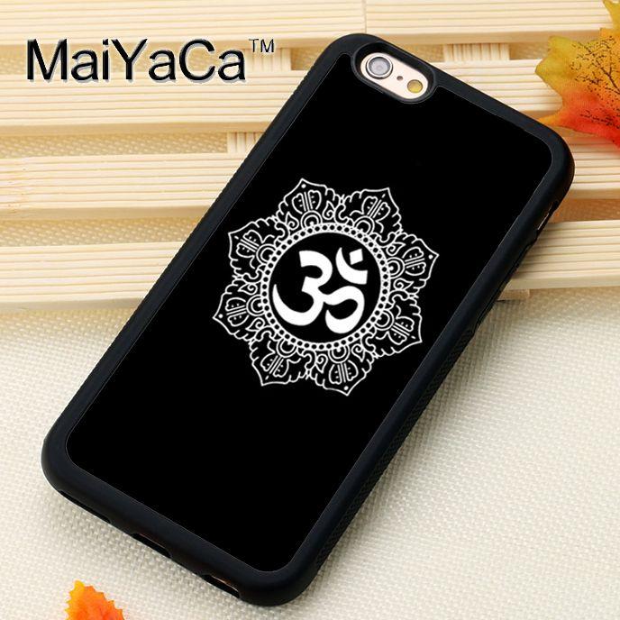 Click To Buy Cool Aum Om Symbol Yoga Printed Soft Tpu Skin Mobile