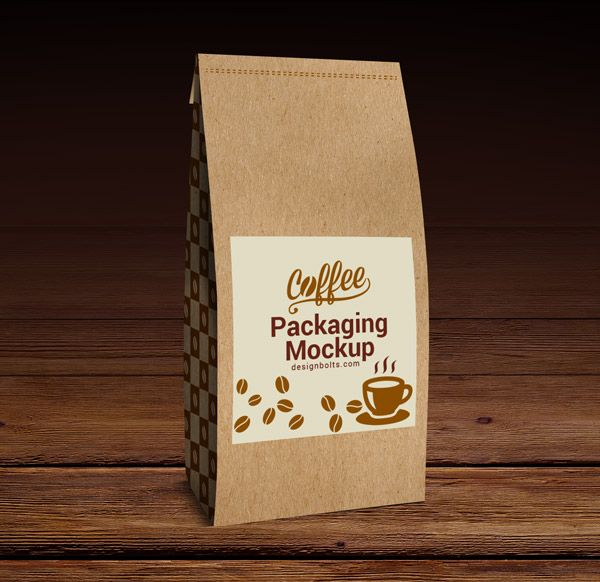 Free High Quality Coffee Packaging Mock Up Psd Coffee Packaging Coffee Coffee Gifts