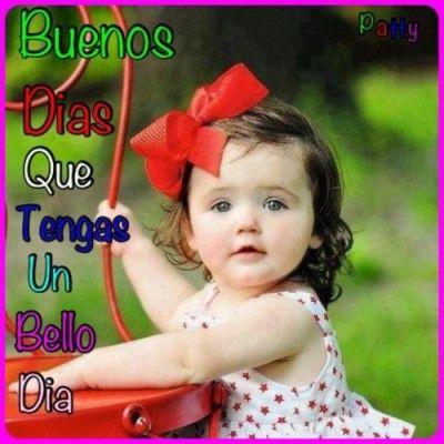 Imagenes Lindas De Buenos Dias Con Frases Con Bebes