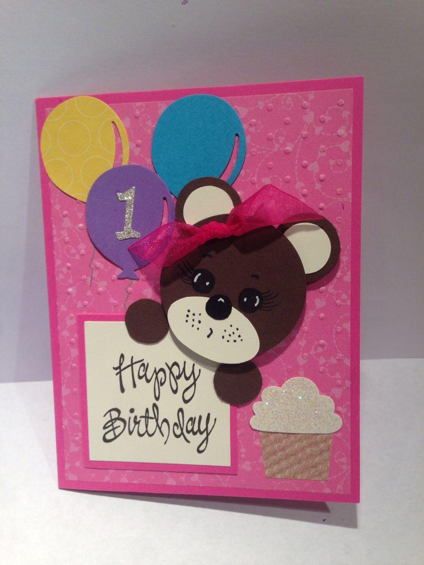 Granddaughter 1st birthday card Birthday card sayings