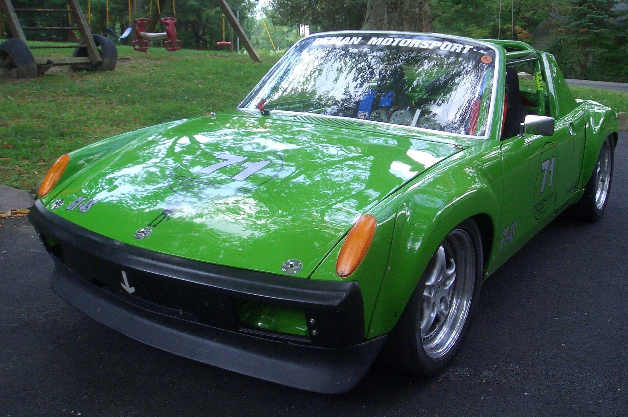 914-6 track car, 914-6 for sale, Porsche autocross | Sports Car ...
