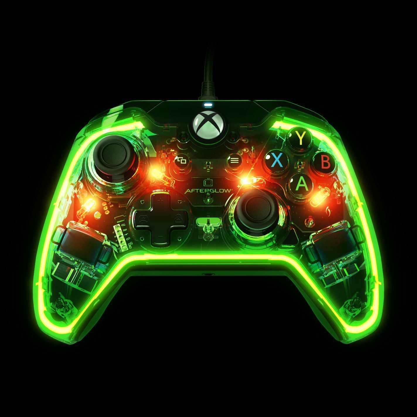 Amazon.com: PDP Afterglow Prismatic Wired Controller - Xbox One ...