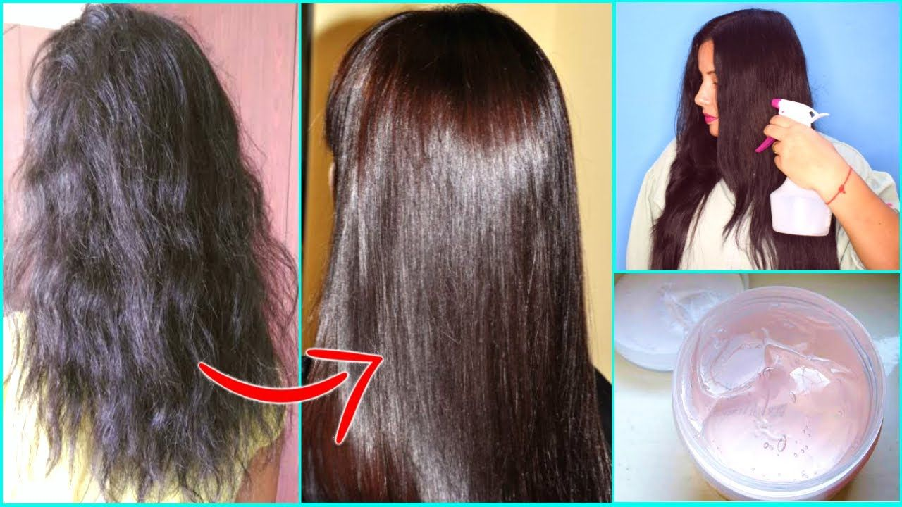 Try This 2 min. Dry Hair Treatment at Home Get Soft
