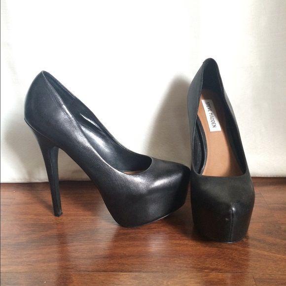 Steve Madden DeJavu Heels 6in Heel / 2in Platform | Worn Once | Beautiful Condition Steve Madden Shoes Heels