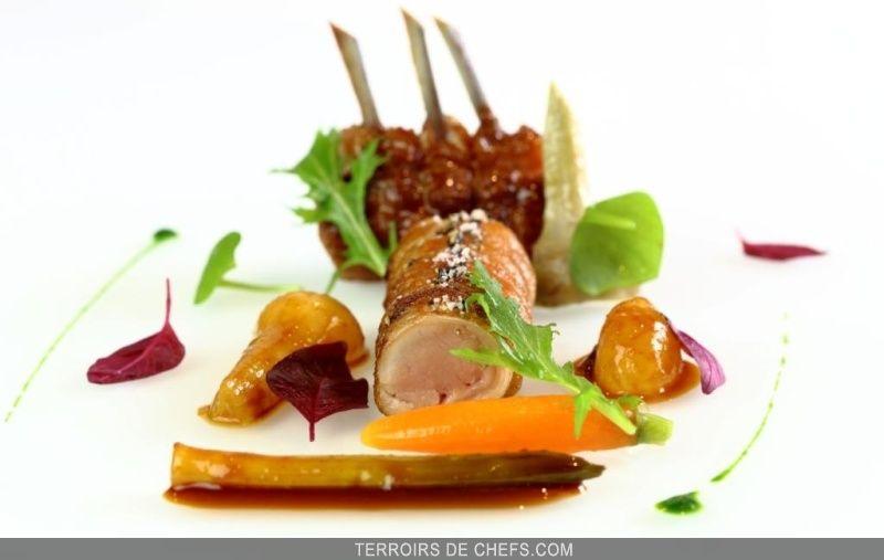 Agneau des pyr n es l gumes pic s recette du chef for Cuisinier 3 etoiles legumes