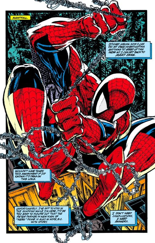 NM ZECK AMAZING SPIDER-MAN SOUL OF A HUNTER