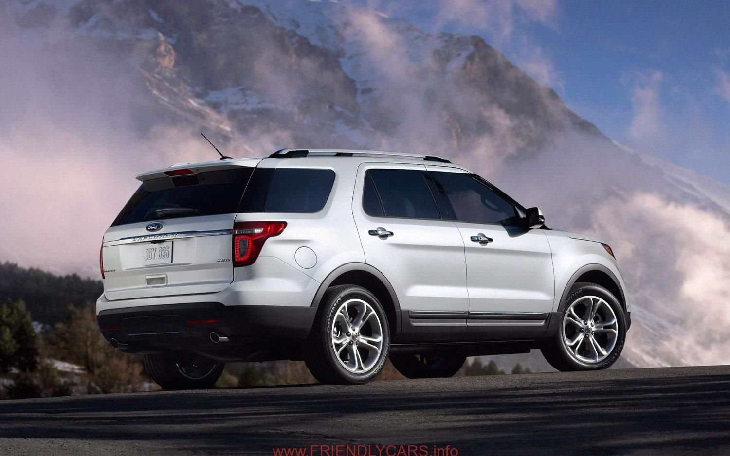 Ford Explorer 2014 Trunk Car Images Hd alifiah sites