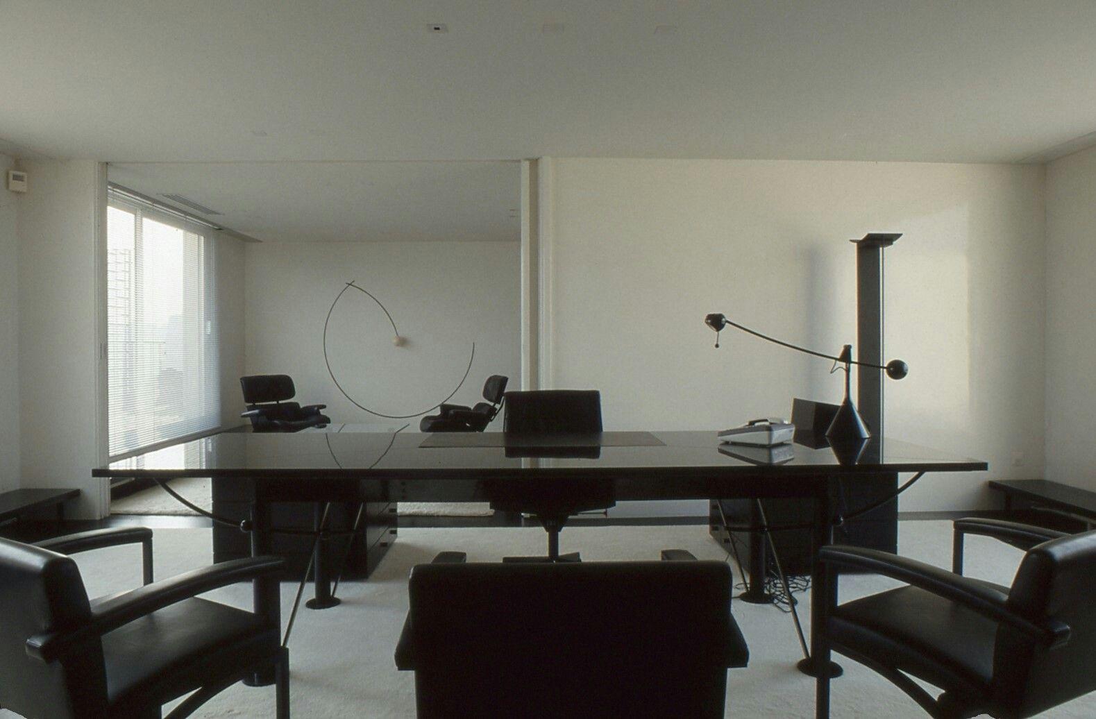 Bureau Noir Et Blanc bureau #pdg #géométrique #noiretblanc | decoration, bureau