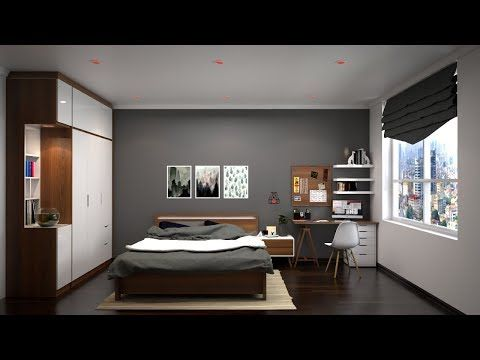 Vray Rendering Nice Bedroom 017 Render With Vray 3 4 For