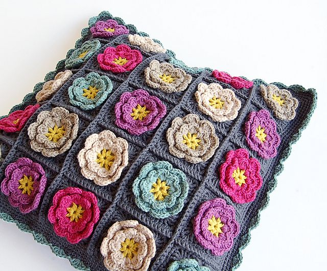 Almohada hecha a mano | almohadones | Pinterest | Tejido, Ganchillo ...