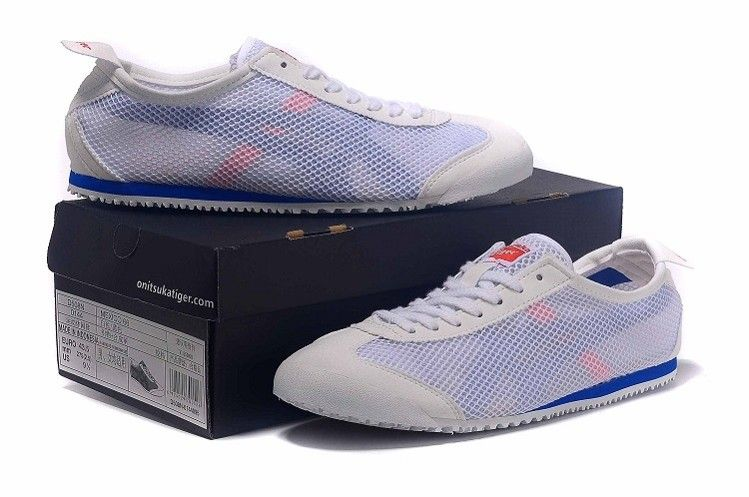 factory price bb179 f96a8 Onitsuka Tiger Mexico 66 D508N White Blue Shoes ...