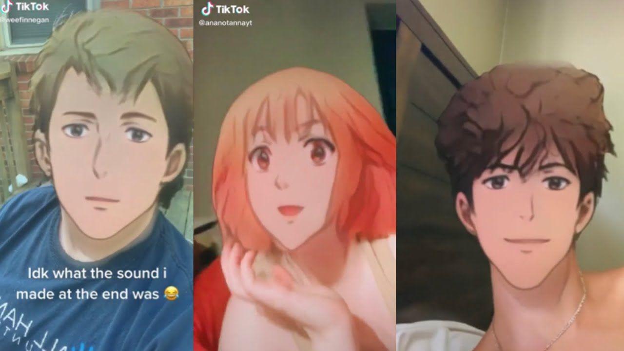 Anime Filter On Tiktok Tiktok Compilations Anime Anime Art Beautiful Aesthetic Desktop Wallpaper