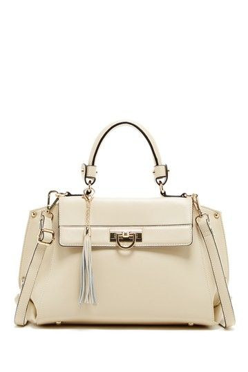 Segolene En Cuir Charlotte Turn-Lock Satchel by Segolene En Cuir on @HauteLook