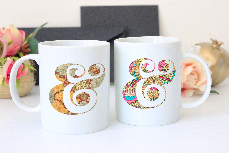 Pretty Coffee Mug - Coffee Cup Set - Pretty Coffee Mug - Ampersand ...