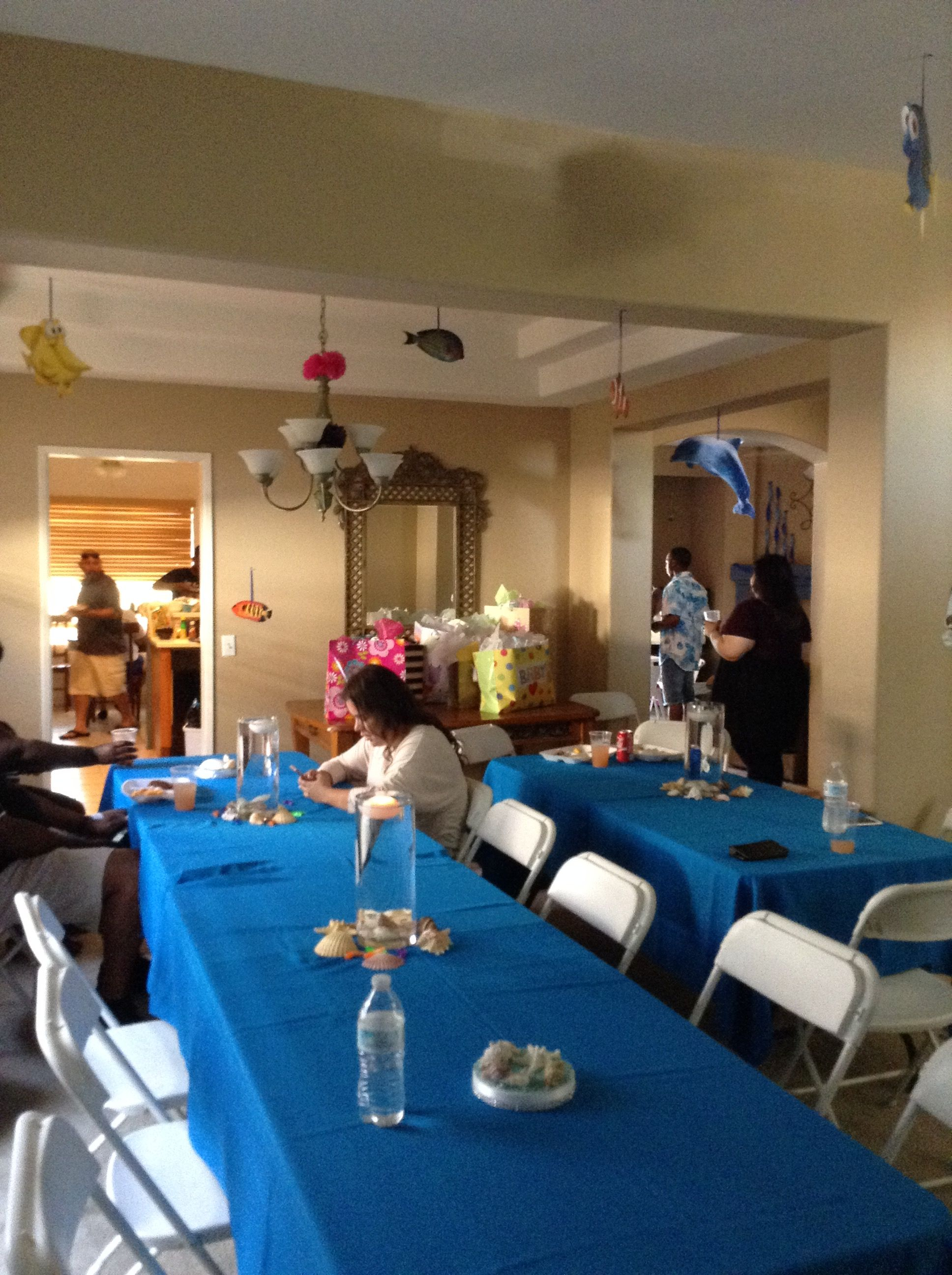 Under the sea baby shower By Anointed