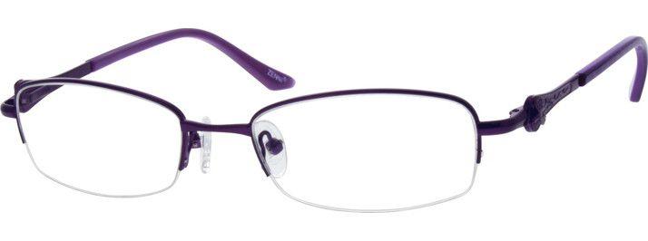 e1fa3b4a6d25 Purple Girls  Purple Cat-Eye Eyeglasses  20114