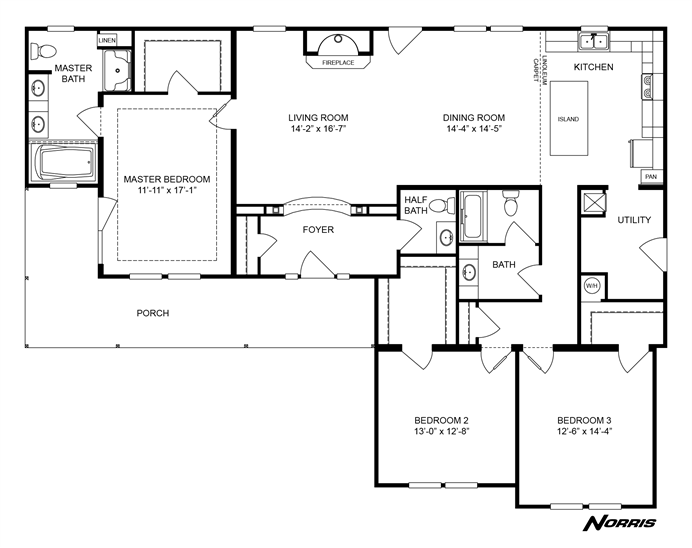 Interactive Floorplan GREYSTONE