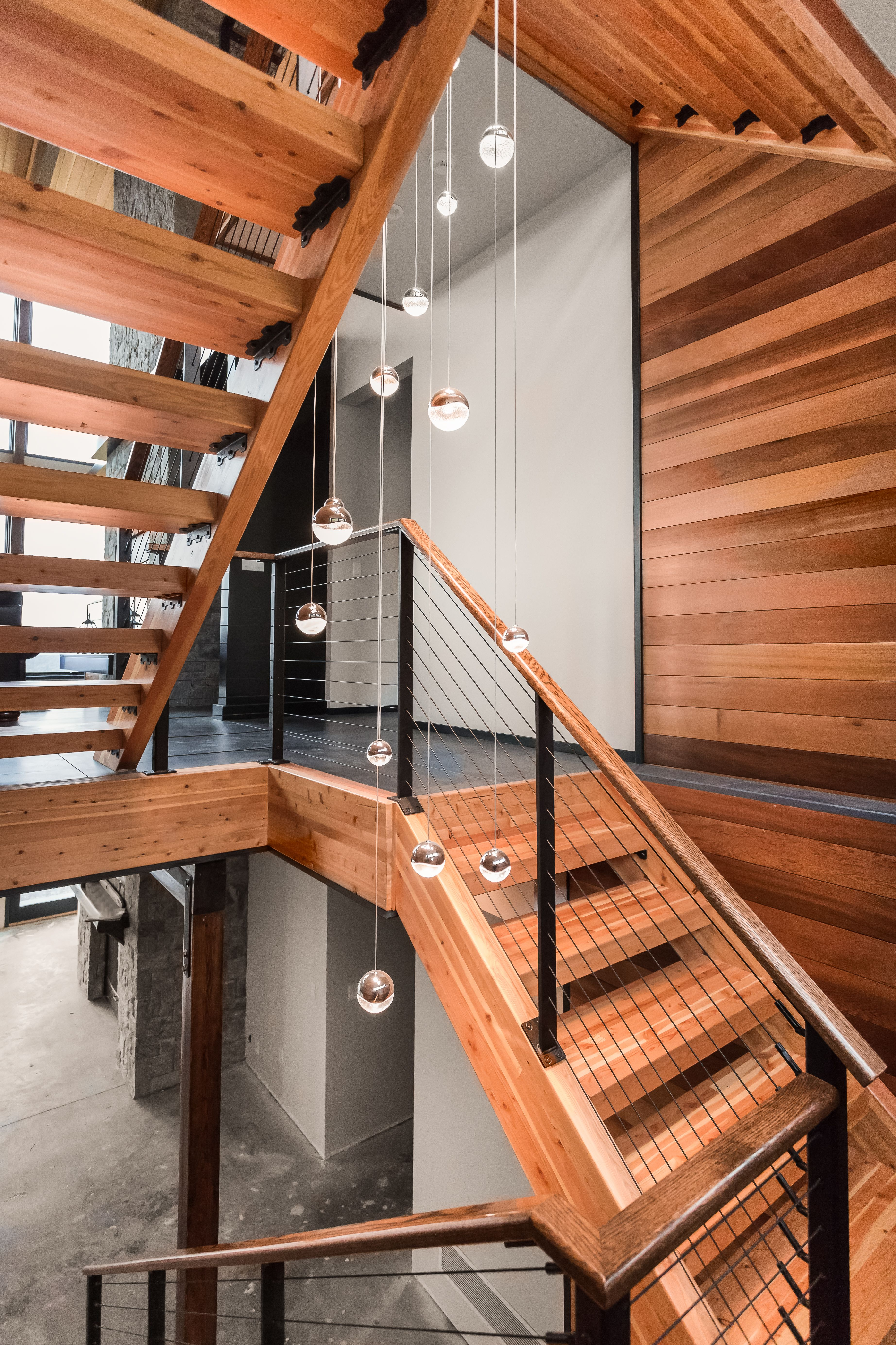 Black Cable Railing - Berkshires, MA | Keuka Studios in ...