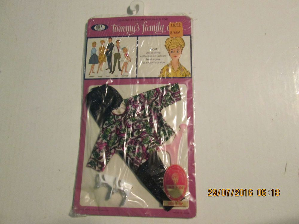 Vintage Nos Ideal Tammy Pepper Family 9422 Outfit Clothes Mom Barbie Doll Ideal Clothingaccessories Barbie Dolls Dolls Barbie