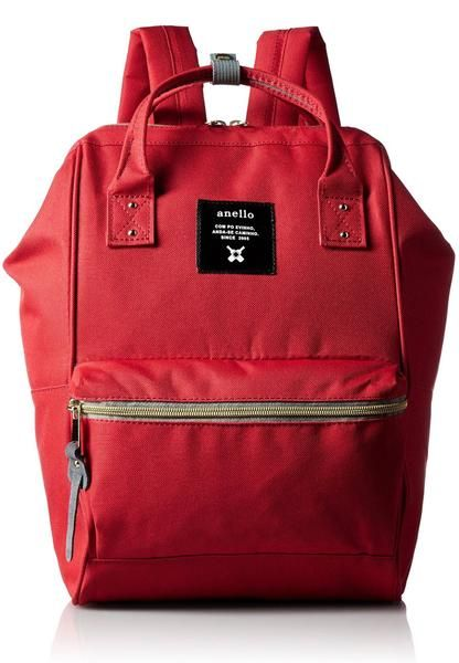 33f60231cfc Authentic Anello Japan Imported Canvas Mini Size Unisex Backpack Red -  Lulugift.com :Affordable Designer Handbags malaysia bag murah