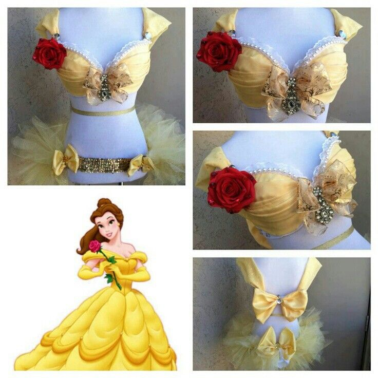 fcbbfbe72f Princess Rave Costume   Princess Bra  Custom Rave  Costume   Cosplay ...