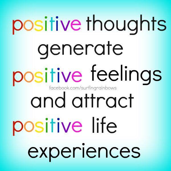 THINK! Positive. | Inspire Motivation | Pinterest | Positivity ...