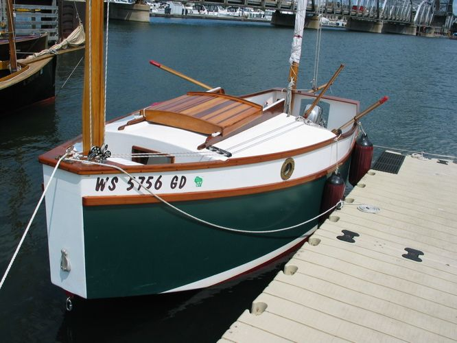 This Is A Bolger Microwith A Few Minor Deviations From The Plans - Bolger micro trawler boats