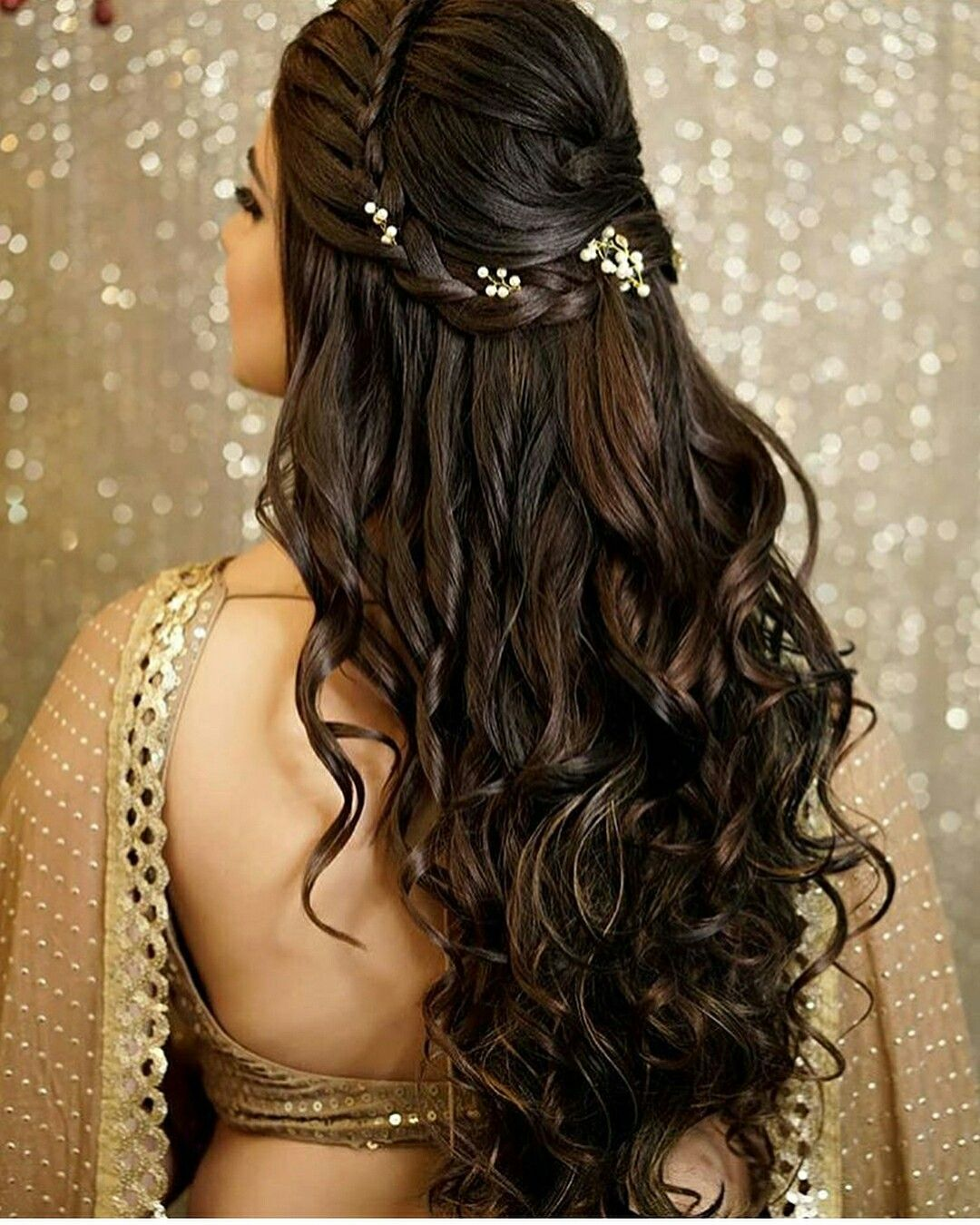 pin by safy on h a i r in 2019 | curly hair styles, indian